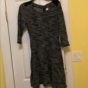 Old navy Black and grey dress